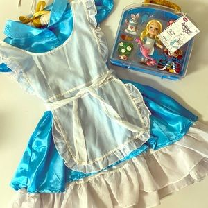 Alice in Wonderland Toy Set with Costume